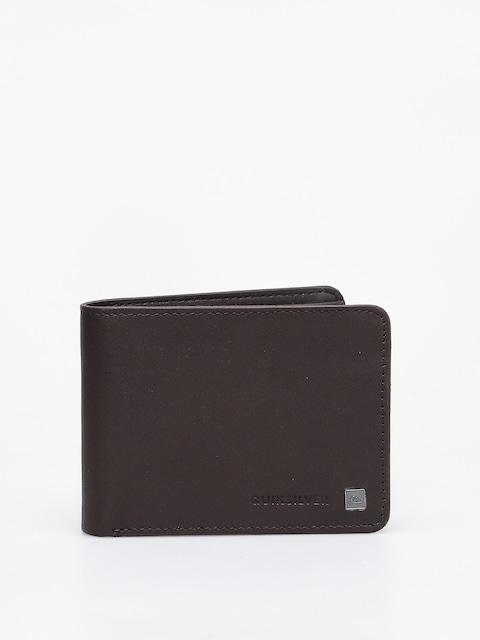 Peňaženka Quiksilver Mack VI (chocolate brown)