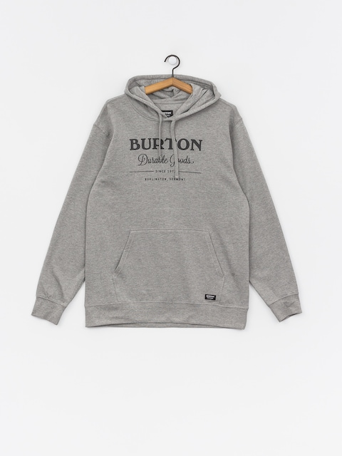 Mikina Burton Durable Goods (gray heather)