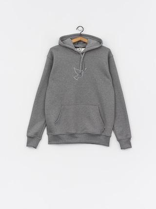 Mikina s kapucňou Nervous Icon HD (grey)