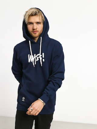 Mikina s kapucňou MassDnm Signature Medium Logo HD (navy)