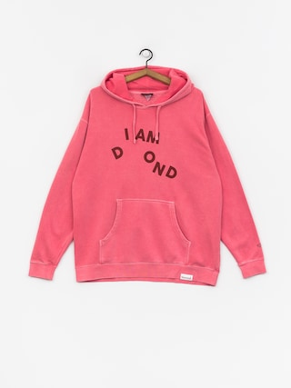 Mikina s kapucňou Diamond Supply Co. I Am HD (pink)