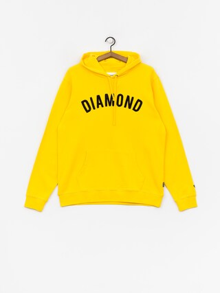 Mikina s kapucňou Diamond Supply Co. Diamond Arch HD (yellow)