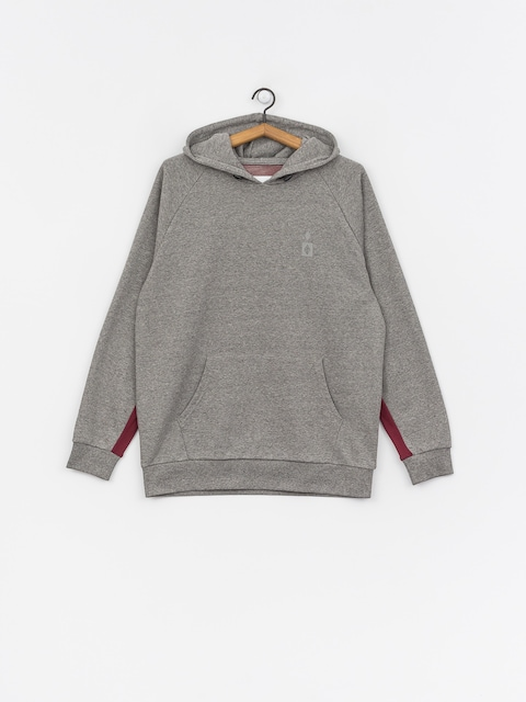 Mikina s kapucňou Diamond Supply Co. Fordham HD (heather grey)