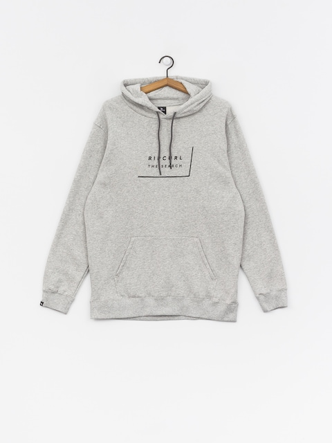 Mikina s kapucňou Rip Curl Daily Fleece HD (cement marle)