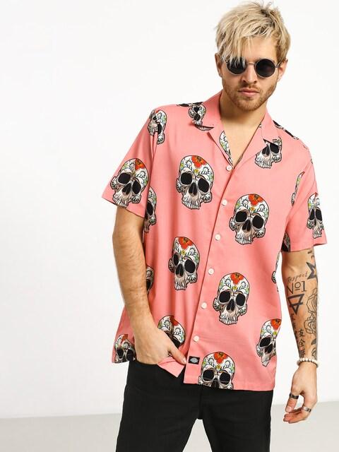Košeľa Dickies Blossvale (flamingo)