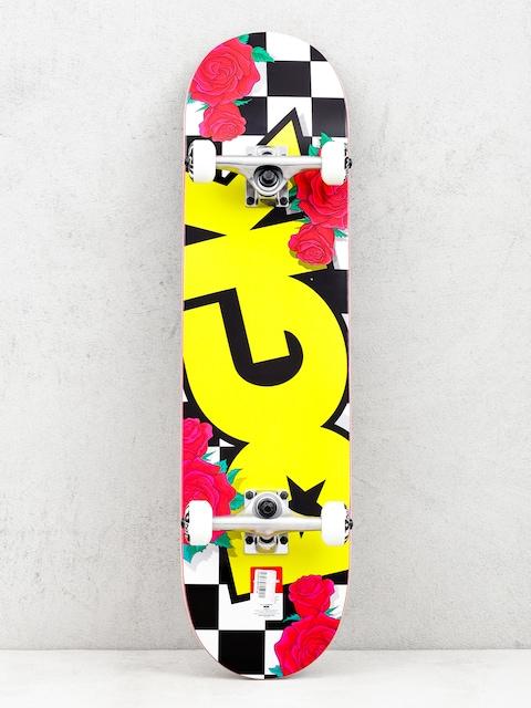 Skateboard DGK Fast Times (yellow/black/white)
