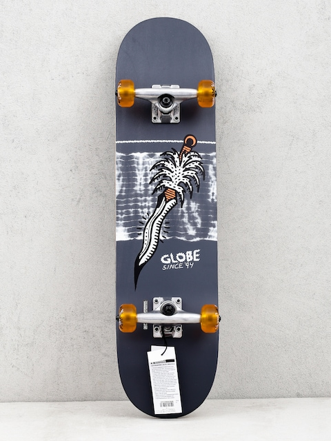Skateboard Globe G2 Palm Prick (black/coral)