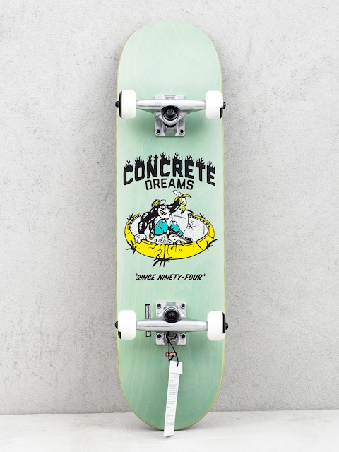 Skateboard Globe Concrete Dreams Mid (breeze green)