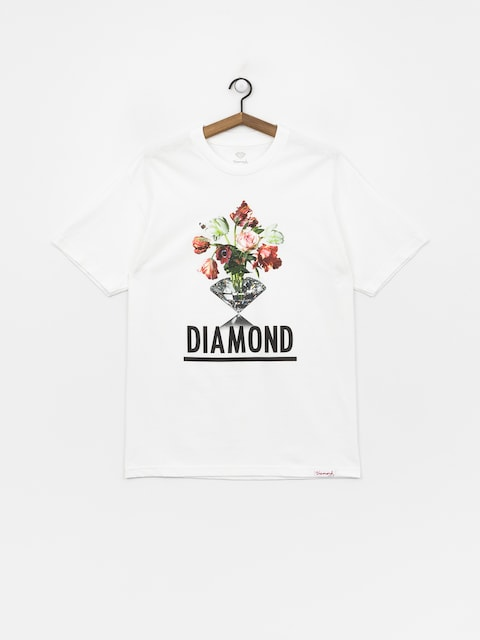 Tričko Diamond Supply Co. Pollination (white)