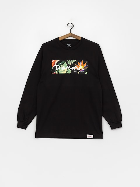 Triko Diamond Supply Co. Paradise Box Logo (black)