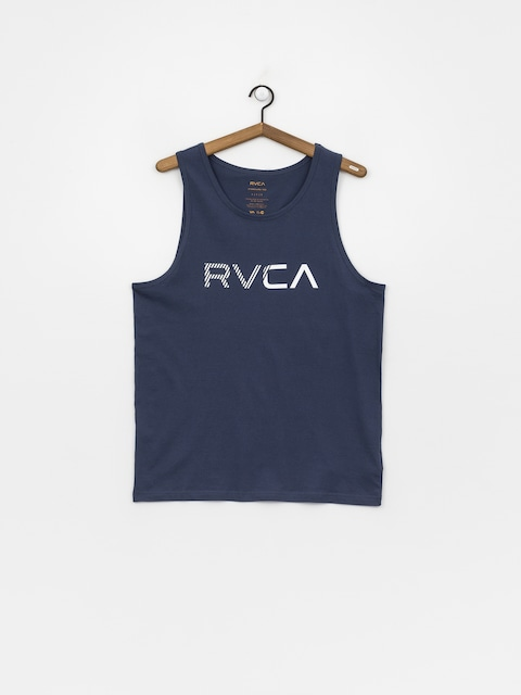 Tričko RVCA Blinded (seattle blue)