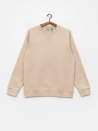 Mikina Carhartt WIP Chase (boulder/gold)