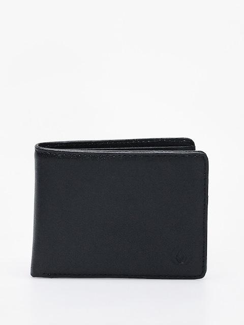 Peňaženka Volcom Strangler Lth (blk)