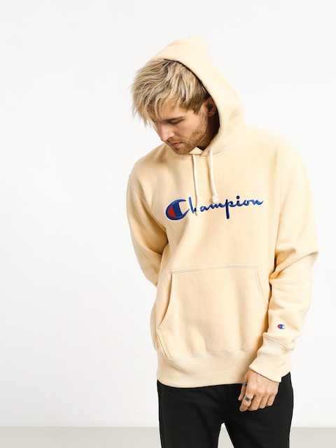 Mikina s kapucňou Champion Reverse Weave Hooded Sweatshirt HD (wet)
