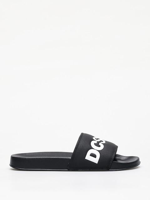 Šlapky DC Slide (black/white)