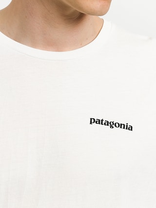Tričko Patagonia Logo Organic (white)