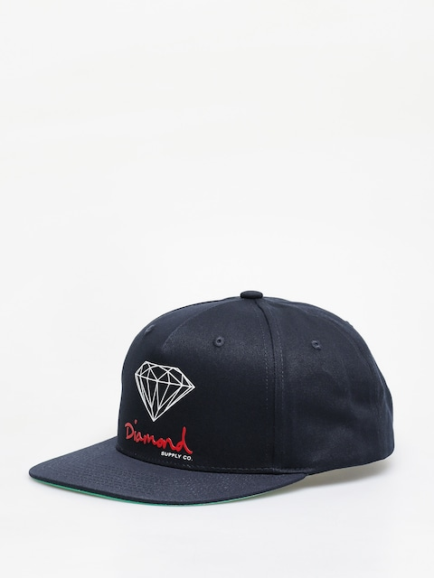 Šiltovka Diamond Supply Co. Og Sign Snapback ZD (navy)