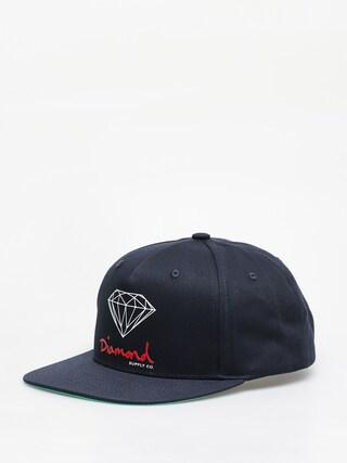 u0160iltovka Diamond Supply Co. Og Sign Snapback ZD (navy)