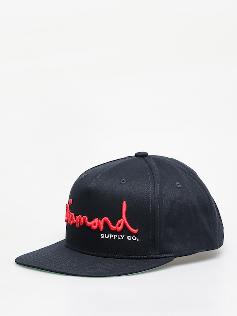 Šiltovka Diamond Supply Co. Og Script Snapback ZD (navy)