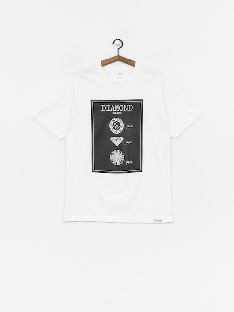 Tričko Diamond Supply Co. Draft (white)