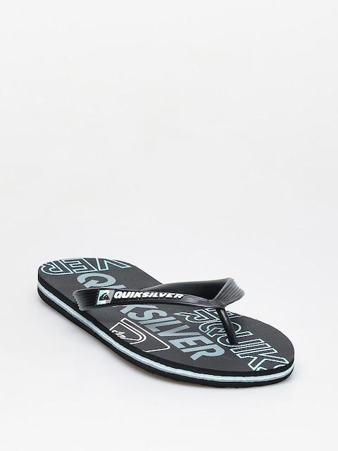 Žabky Quiksilver Molokai Nitro (black/blue/black)