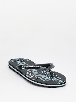 u017dabky Quiksilver Molokai Nitro (black/blue/black)