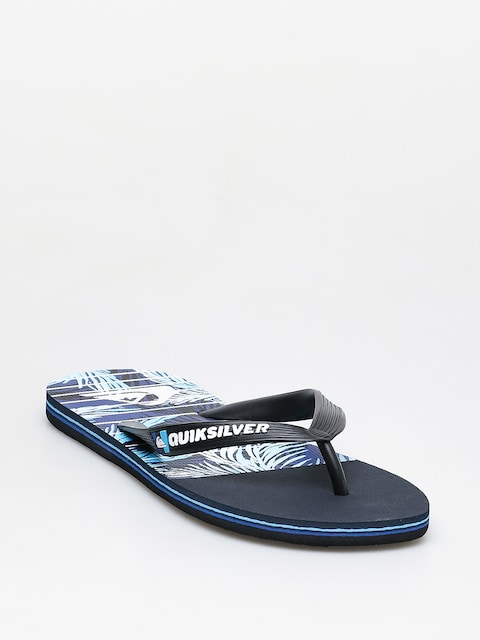 Žabky Quiksilver Molokai Drained Out (black/blue/blue)
