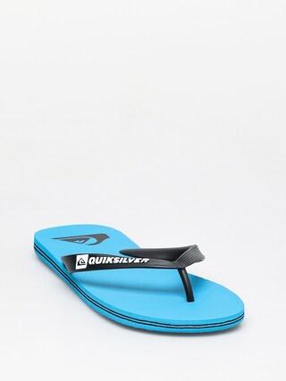 u017dabky Quiksilver Molokai (blue/black/blue)