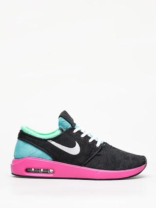 Topu00e1nky Nike SB Sb Air Max Janoski 2 (black/white cabana electro green)