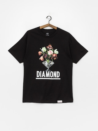 Tričko Diamond Supply Co. Pollination (black)