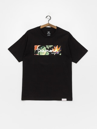 Tričko Diamond Supply Co. Paradise Box Logo (black)