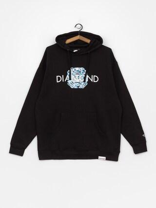 Mikina s kapucňou Diamond Supply Co. Asscher Cut HD (black)