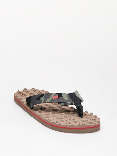 Žabky RVCA Astrodeck Sandal (wood)