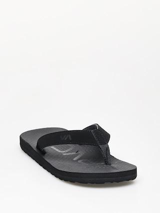 u017dabky RVCA Subtropic Sandal (black)