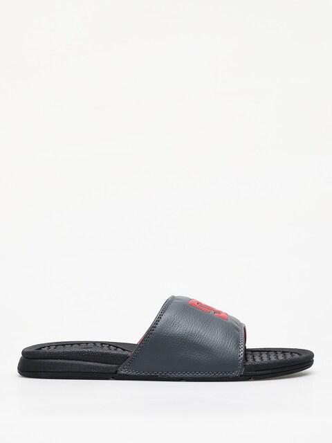 Šľapky DC Bolsa (black/grey/red)