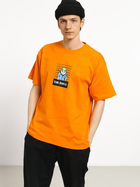 Tričko Polar Skate Robbery (bright orange)