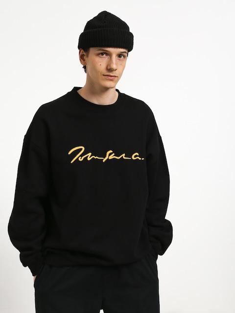 Mikina Polar Skate Signature Crewneck (black)