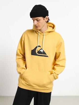 Mikina s kapucňou Quiksilver Big Logo HD (rattan heather)
