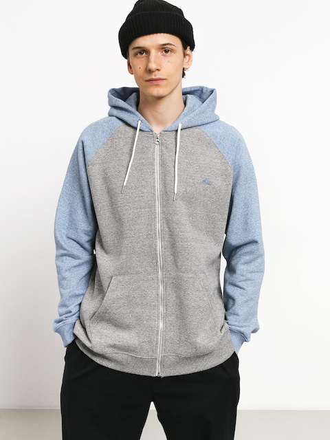 Mikina s kapucňou Quiksilver Everyday ZHD (lgh/stone wash heath)