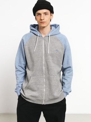 Mikina s kapucu0148ou Quiksilver Everyday ZHD (lgh/stone wash heath)