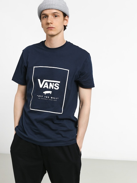 Tričko Vans Print Box (dress blues/white)