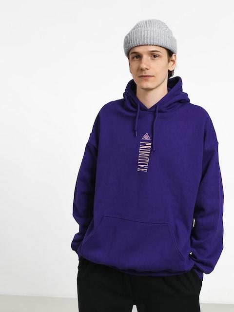 Mikina s kapucňou Primitive Equator HD (purple)