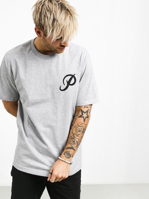 Tričko Primitive Classic P (grey/black)