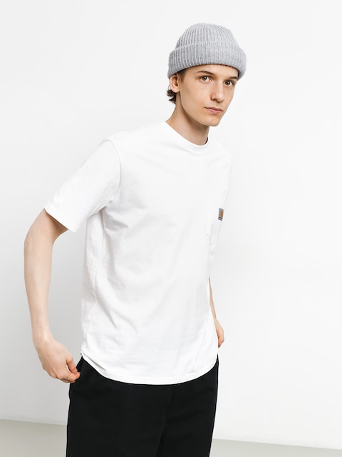 Carhartt Tričko Pocket (white)
