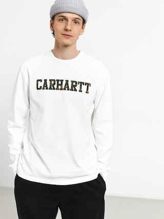 Triko Carhartt WIP College (white/camo laurel)