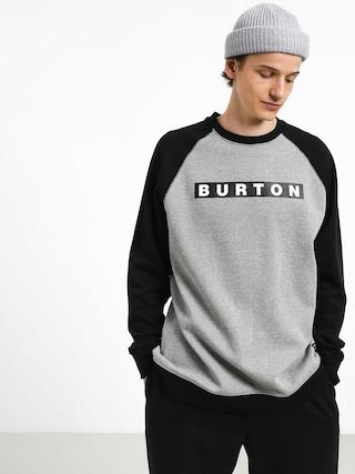 Mikina Burton Vault Crew (gray heather)
