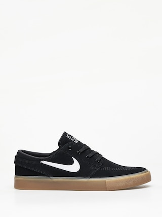 Topu00e1nky Nike SB Sb Zoom Janoski Rm (black/white black gum light brown)