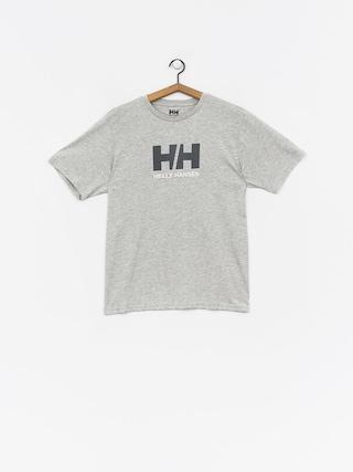 Tričko Helly Hansen Logo (grey melange)