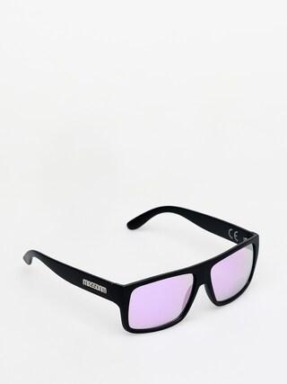Slneu010dnu00e9 okuliare MassDnm Icon (matte black/purple)