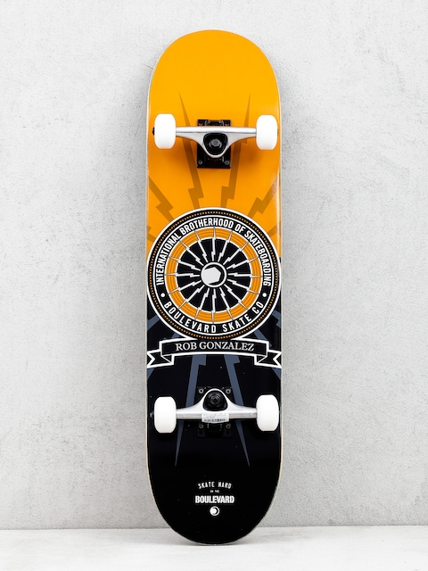 Skateboard Boulevard Gonzalez Brotherhood (orange/black)